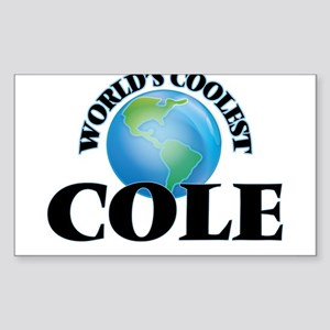 World's Coolest Cole Sticker