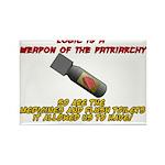 Patriarchy logic bomb Magnets