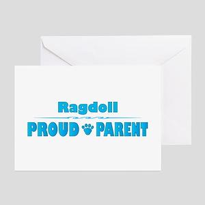 Ragdoll Parent Greeting Cards (Pk of 10)