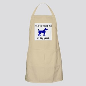 80 dog years blue dog 1 Apron