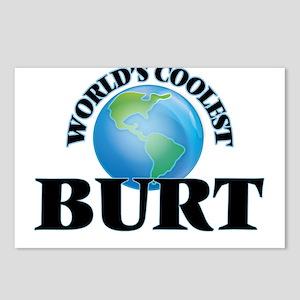 World's Coolest Burt Postcards (Package of 8)