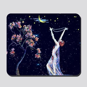 Tsanya Starlight Dancer, Art Deco Mousepad