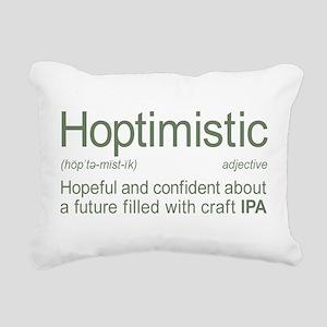 Hoptimistic Definition I Rectangular Canvas Pillow