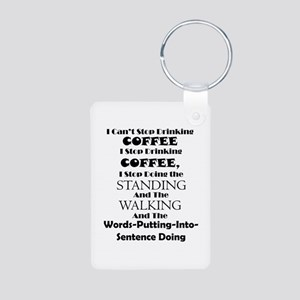 Coffee Sense (Black) Keychains