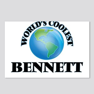World's Coolest Bennett Postcards (Package of 8)