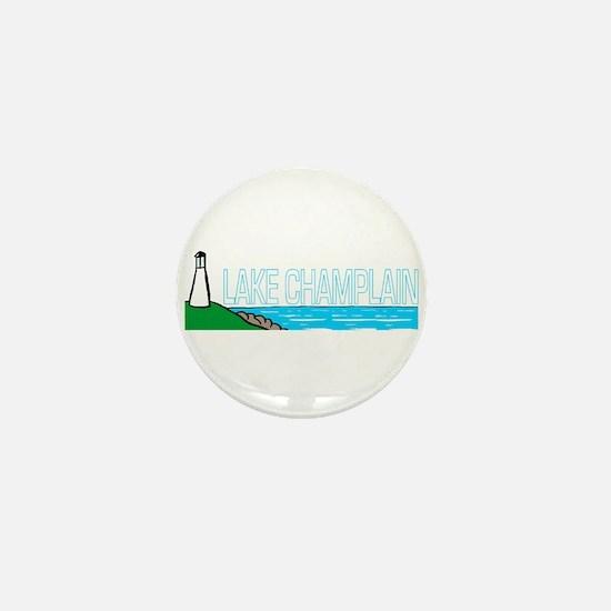 Lake Champlain Mini Button