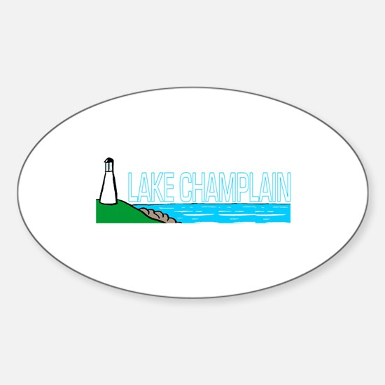 Lake Champlain Oval Decal