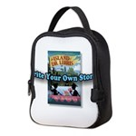 WRITE YOUR OWN STORY! Neoprene Lunch Bag
