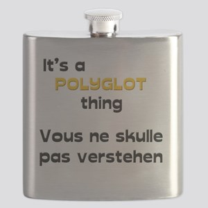 It's a polyglot thing Flask