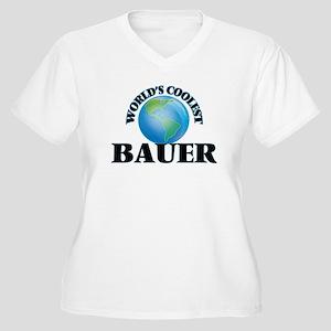 World's Coolest Bauer Plus Size T-Shirt