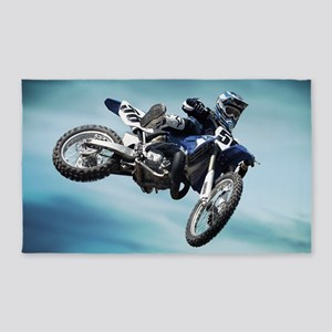 Dirt Bike Jump Area Rug