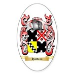 Haldean Sticker (Oval 50 pk)