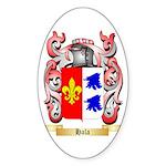 Hala Sticker (Oval 50 pk)