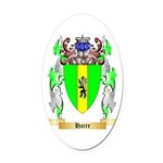Haire Oval Car Magnet