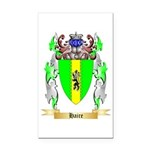 Haire Rectangle Car Magnet