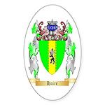 Haire Sticker (Oval 50 pk)