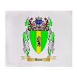 Haire Throw Blanket