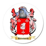 Hainsworth Round Car Magnet