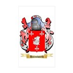 Hainsworth Sticker (Rectangle 50 pk)