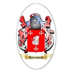 Hainsworth Sticker (Oval 50 pk)