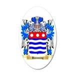 Hainning 35x21 Oval Wall Decal
