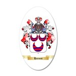 Haines 20x12 Oval Wall Decal