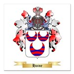 Haine Square Car Magnet 3