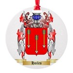 Hailes Round Ornament