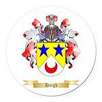 Haigh Round Car Magnet