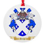 Haig Round Ornament