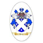 Haig Sticker (Oval)