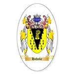 Hahnke Sticker (Oval 10 pk)