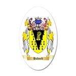 Hahnelt 35x21 Oval Wall Decal
