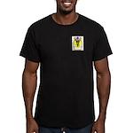 Hahneke Men's Fitted T-Shirt (dark)
