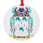 Hahessy Round Ornament