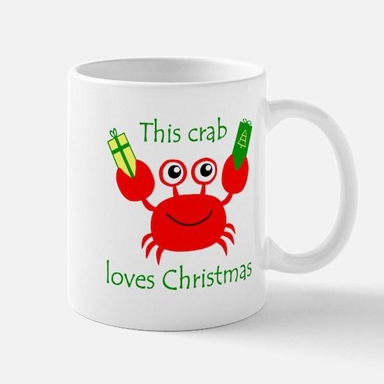 Christmas Crab Mug