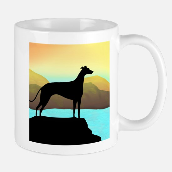 Cute Greyhound lover Mug