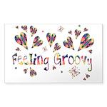Feeling Groovy Sticker