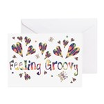 Feeling Groovy Greeting Cards