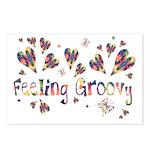 Feeling Groovy Postcards (Package of 8)