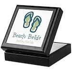 Personalize Flip Flops Keepsake Box
