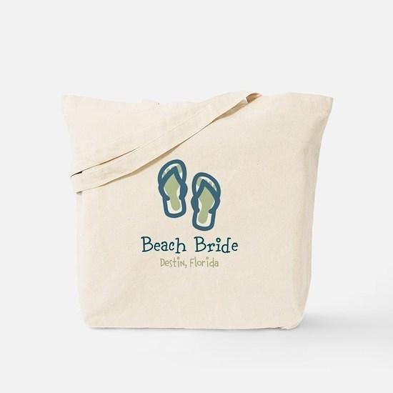 Personalize Flip Flops Tote Bag