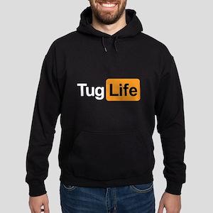 Tug Life - Porn Addict Hoodie (dark)