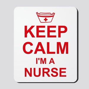 Keep Calm Nurse Mousepad