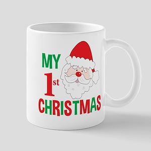 My 1st Christmas Santa Claus Mugs