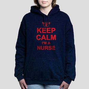 Keep Calm Nurse Women's Hooded Sweatshirt