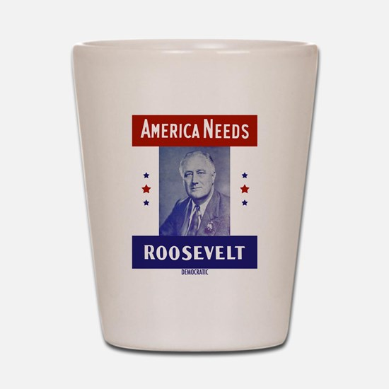 Cute Franklin delano roosevelt Shot Glass