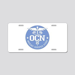 Oncology Certified Nurse Aluminum License Plate