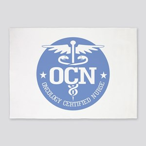 Oncology Certified Nurse 5'x7'Area Rug