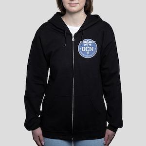 Oncology Certified Nurse Women's Zip Hoodie